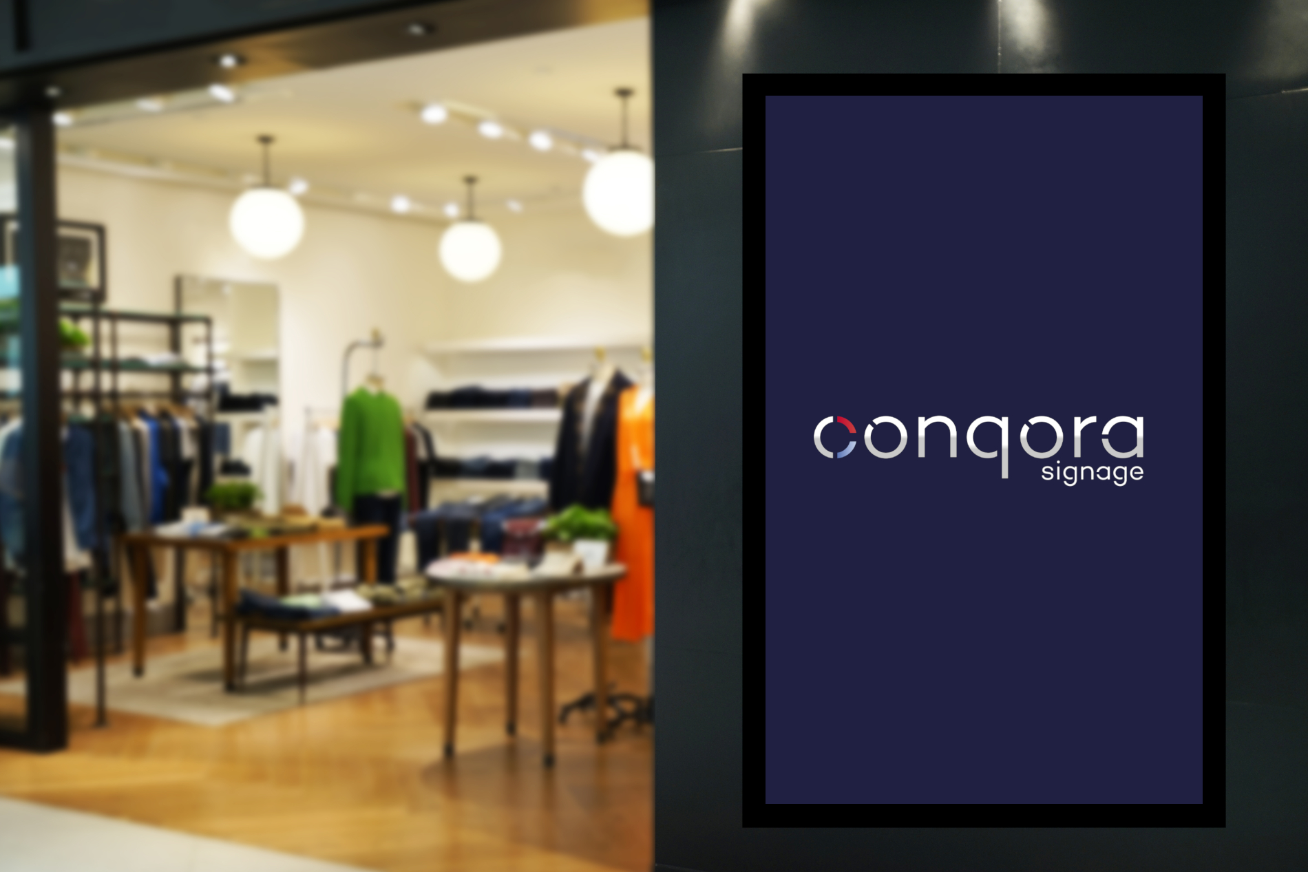 Conqora Signage